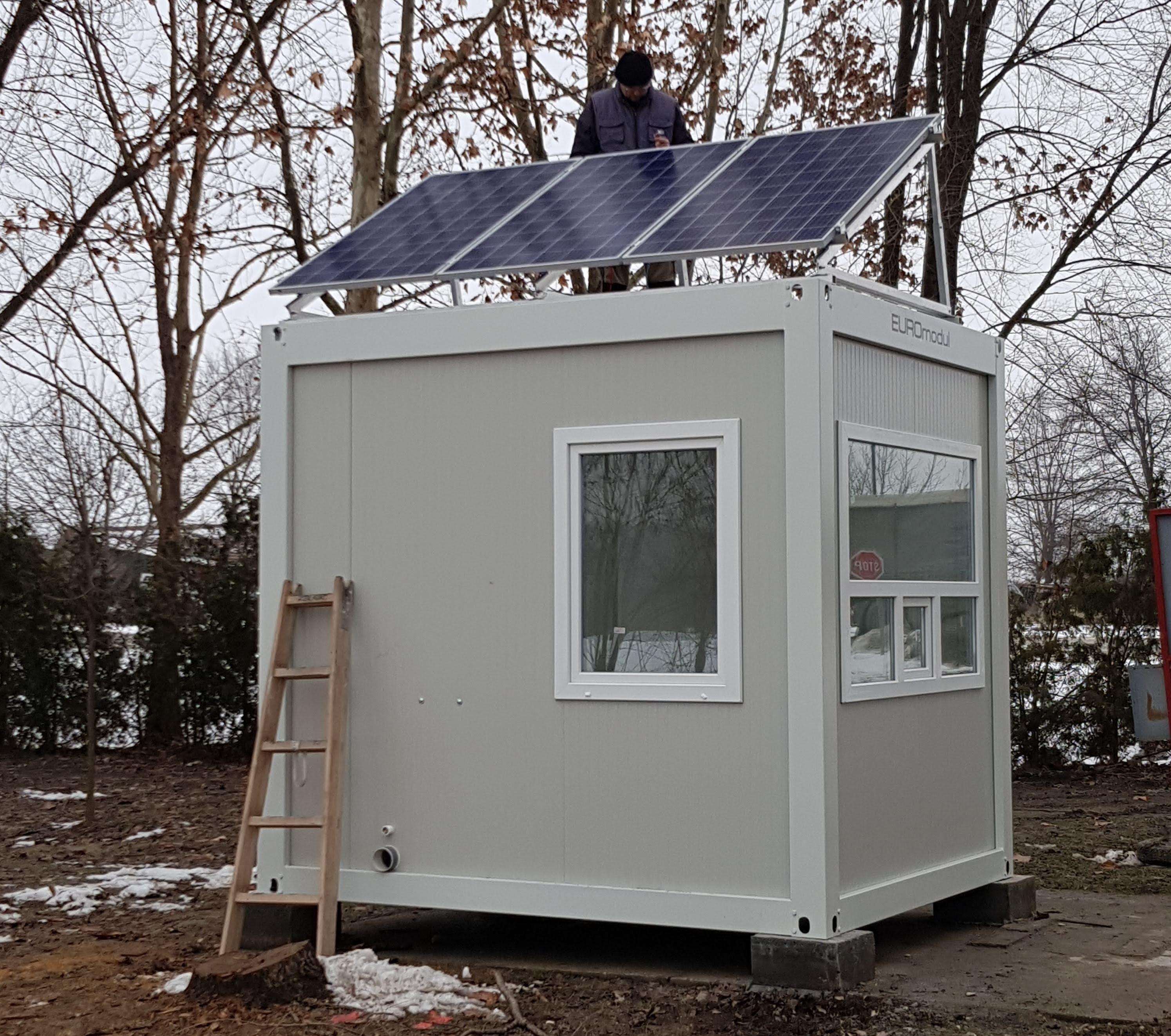 Solarni kontejner portirnica-810 W