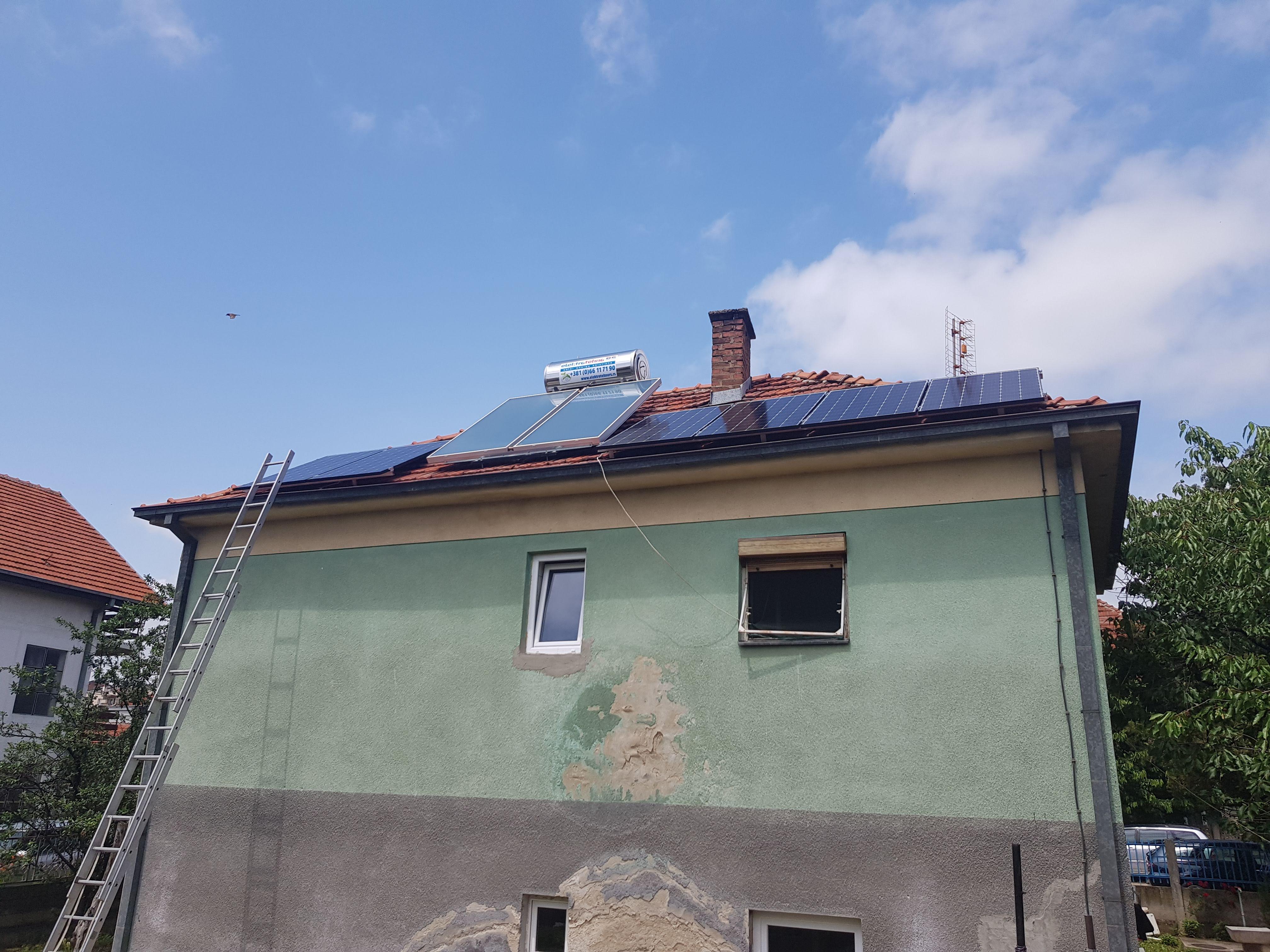 Solarni baterijski sistem-1.7 Kwp- Nis