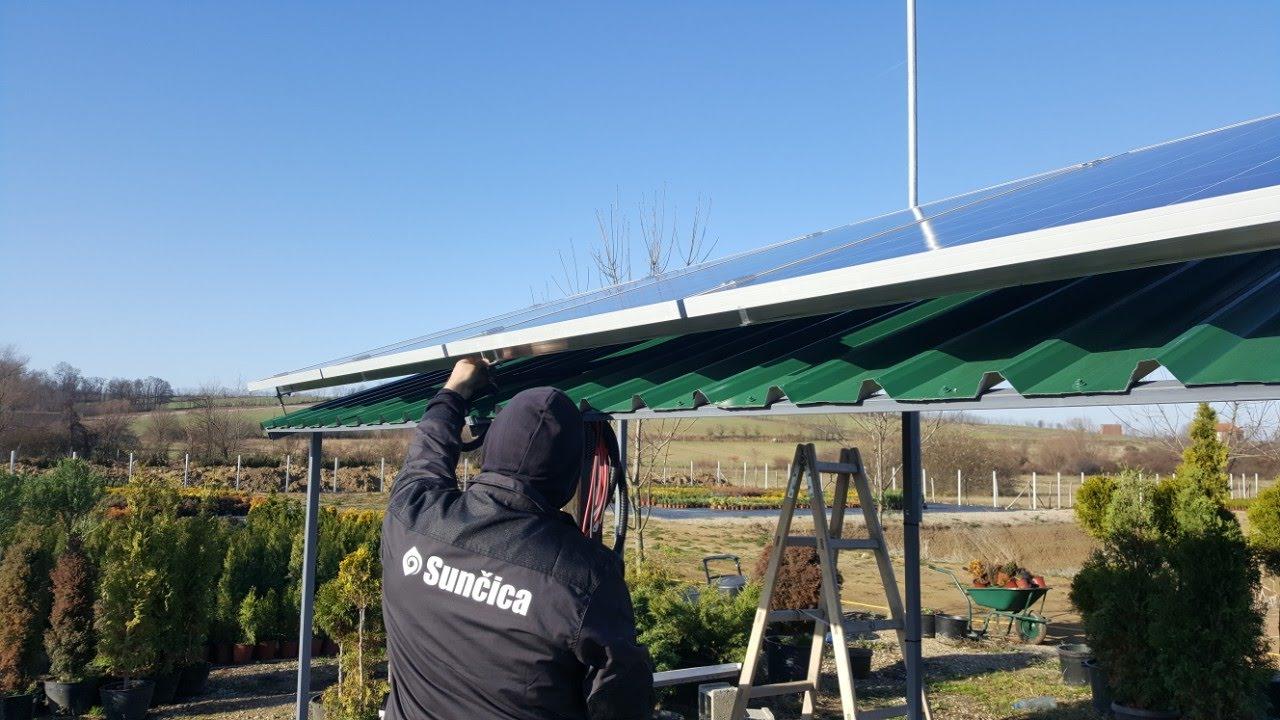 Solarni baterijski sistem-1080W- Šabac