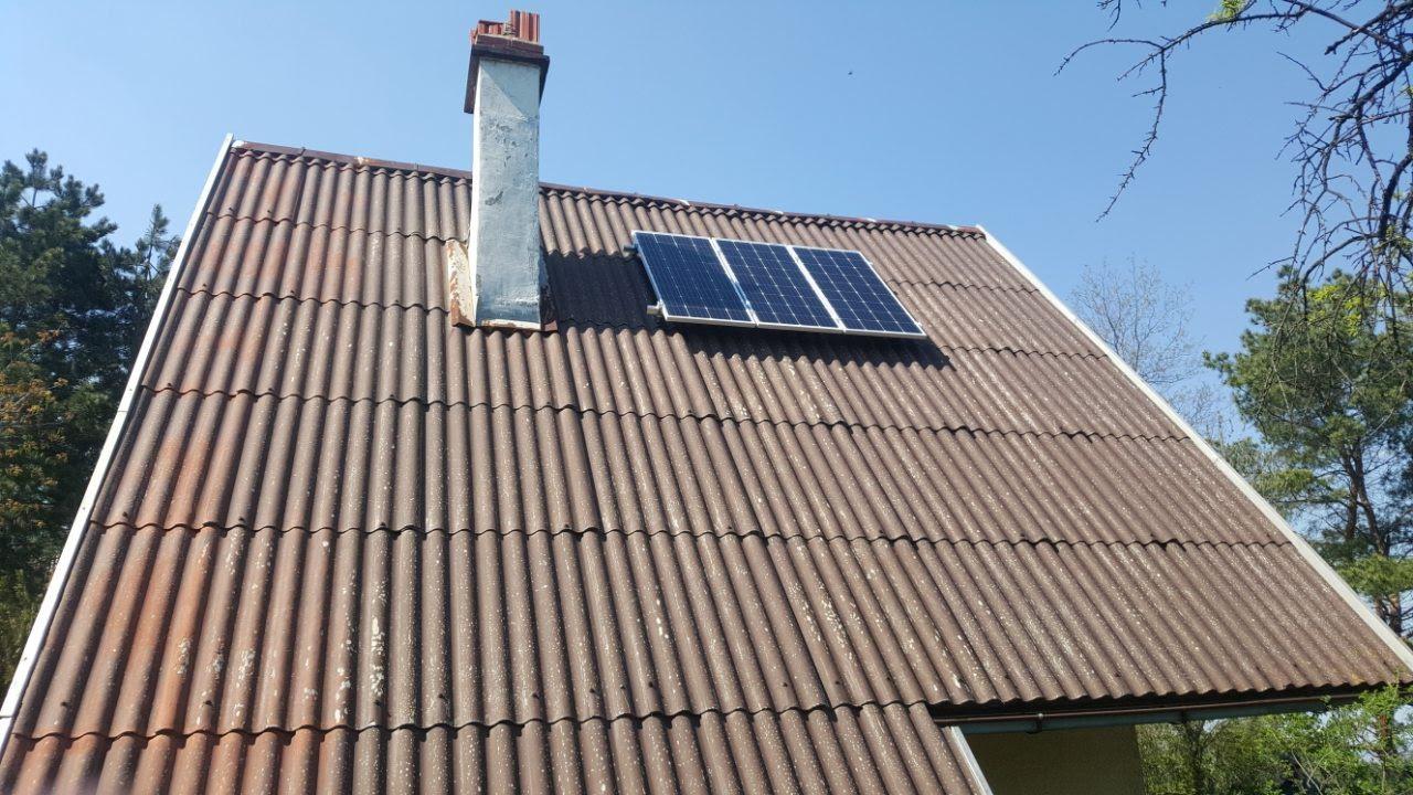 Solarni sistem za vikendice-480W- Fruska Gora
