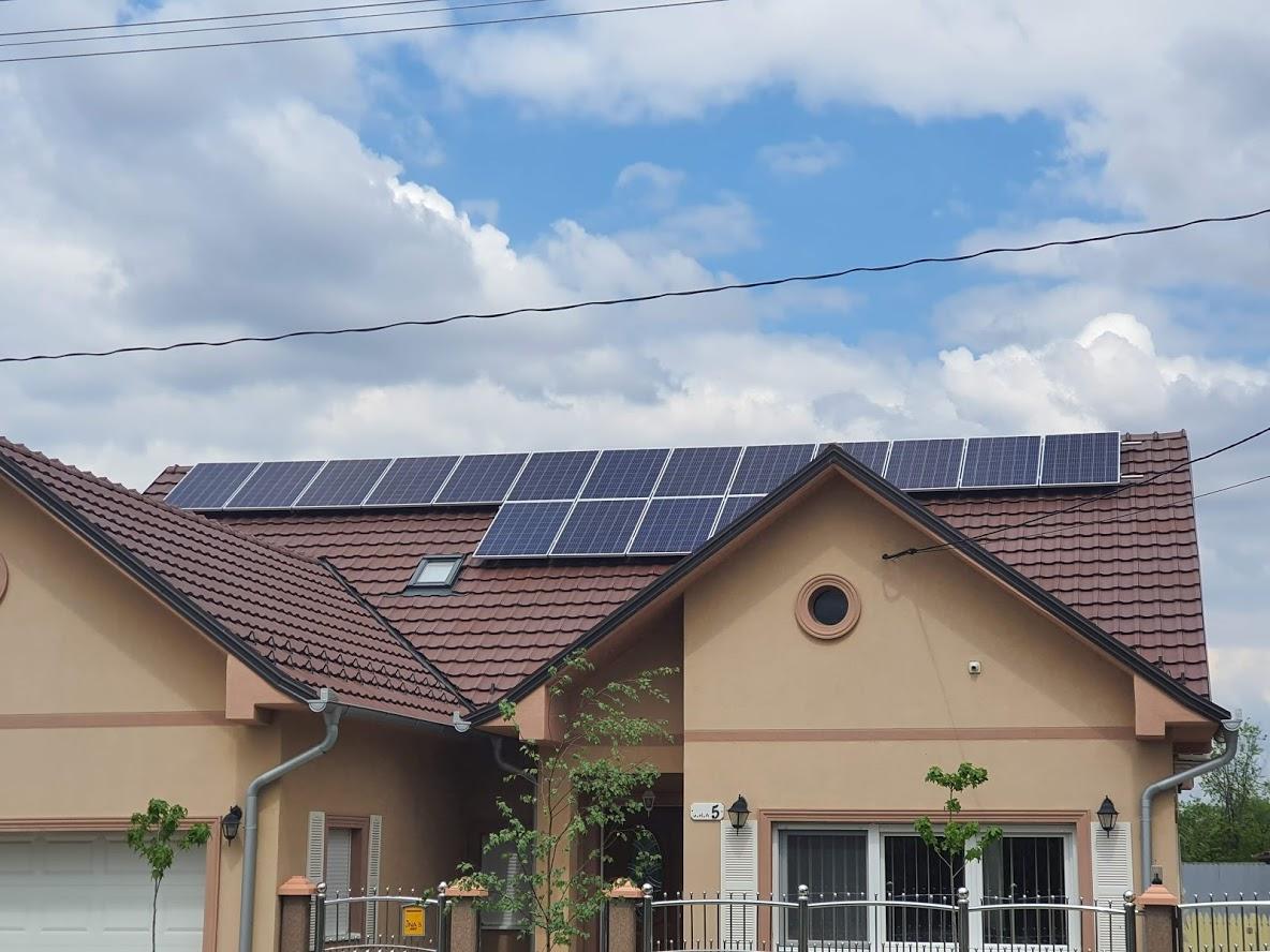 Solarni mrežni sistem-5 Kwp- Padina