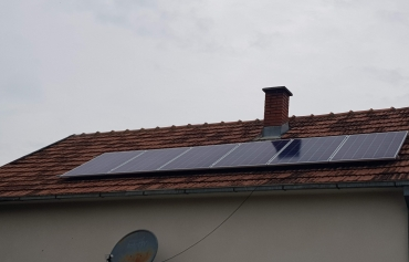 Solarni baterijski sistem-1.7 Kwp- Borca