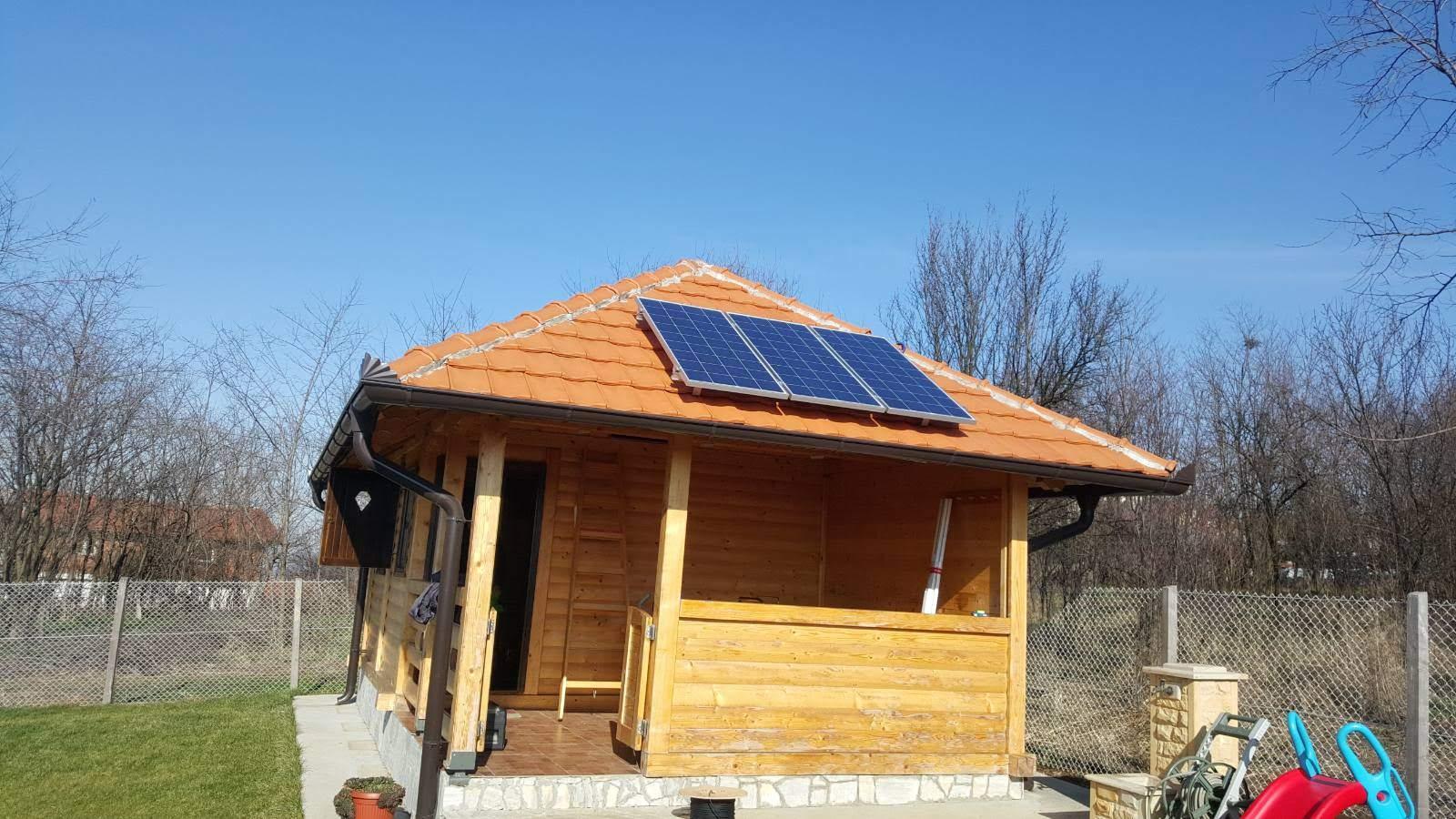 solarni paneli 3 x 160 W