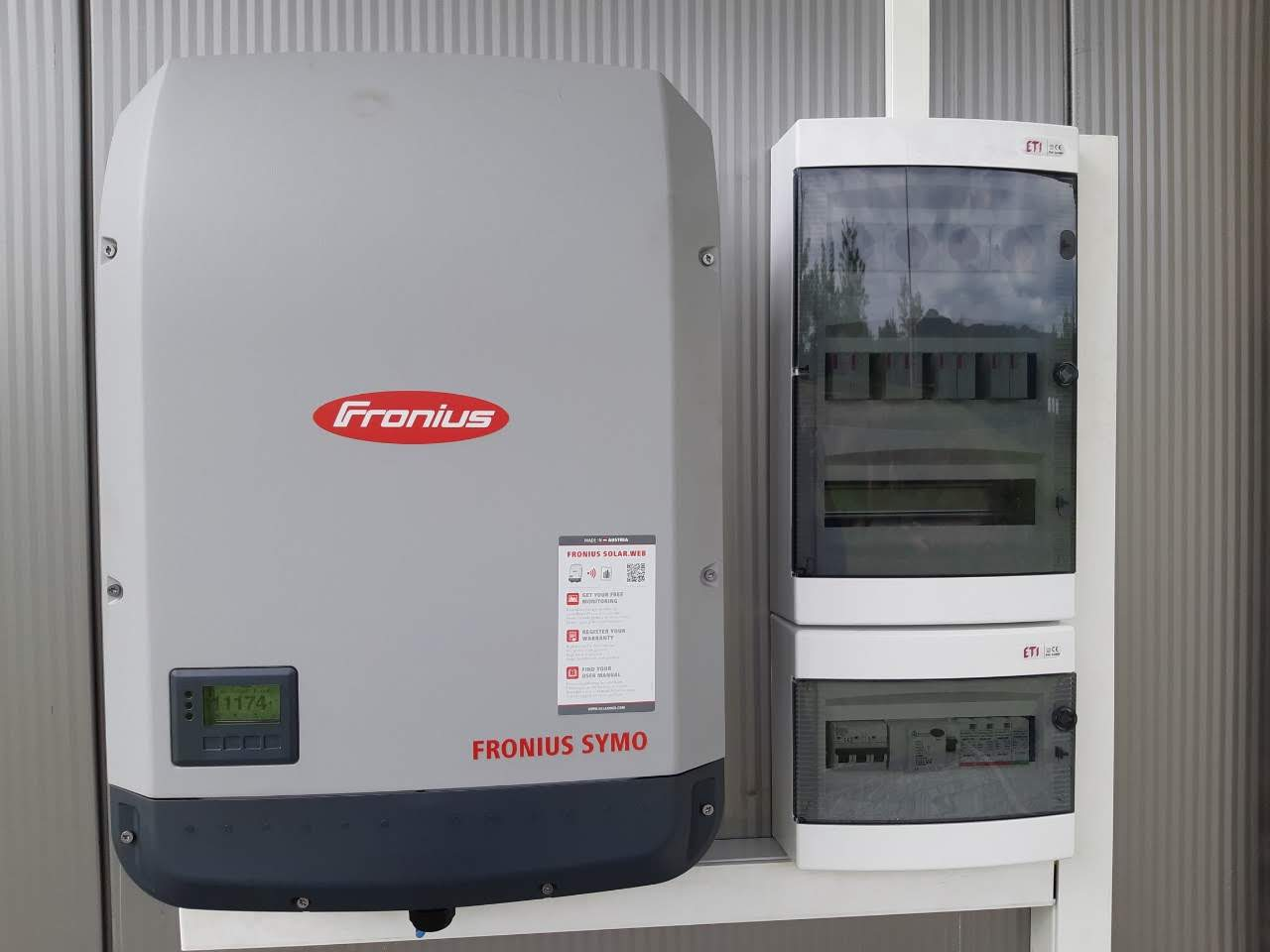 Fronius invertor 20 KW