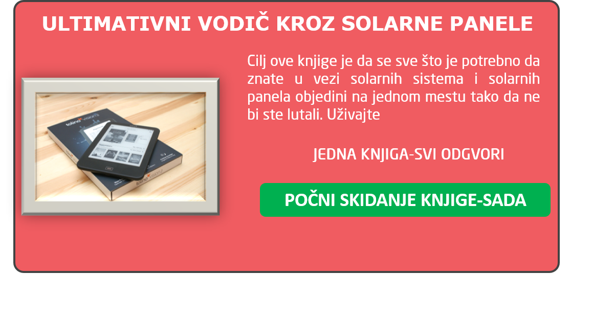 solarni paneli knjiga