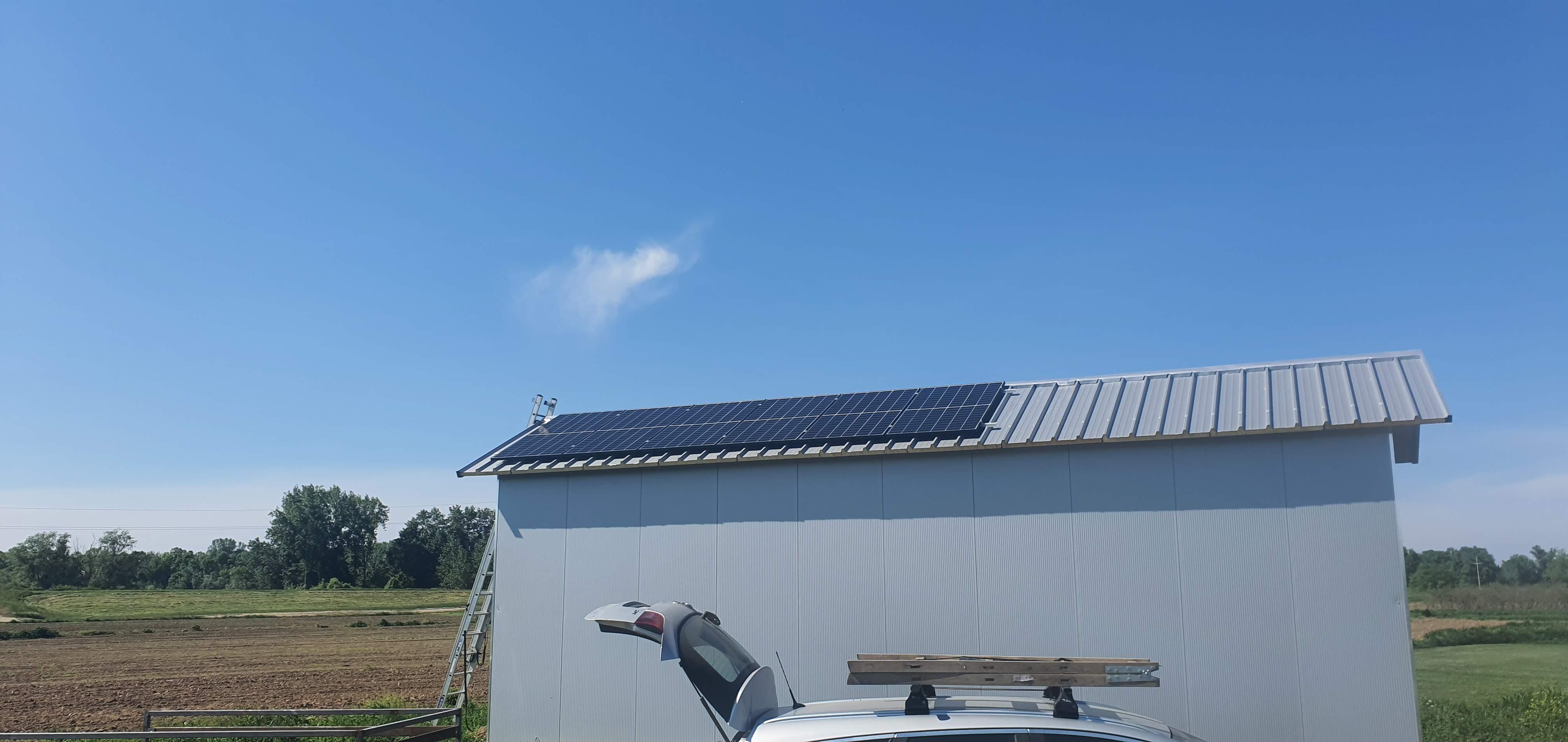 Solarni baterijski sistem-2040 W-Obrenovac